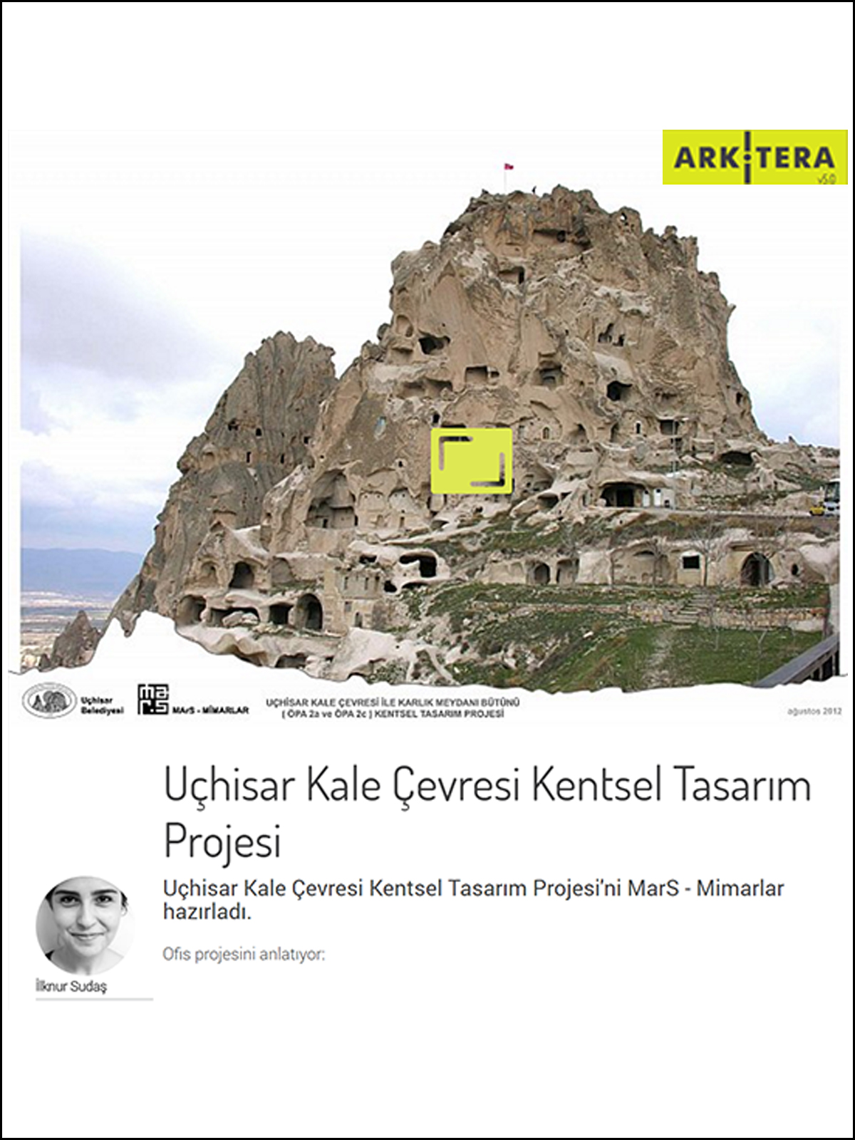 Uçhisar Urban Design Project